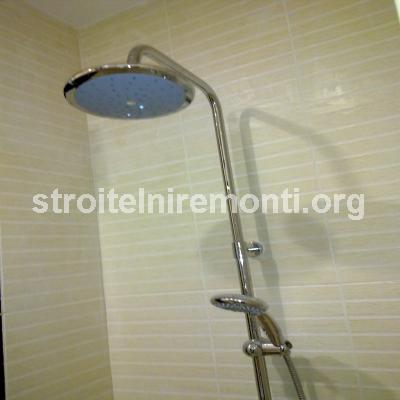 ремонт на баня - душ слушалка