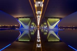 Строителство на мост чрез Конзолно бетониране 3D анимация